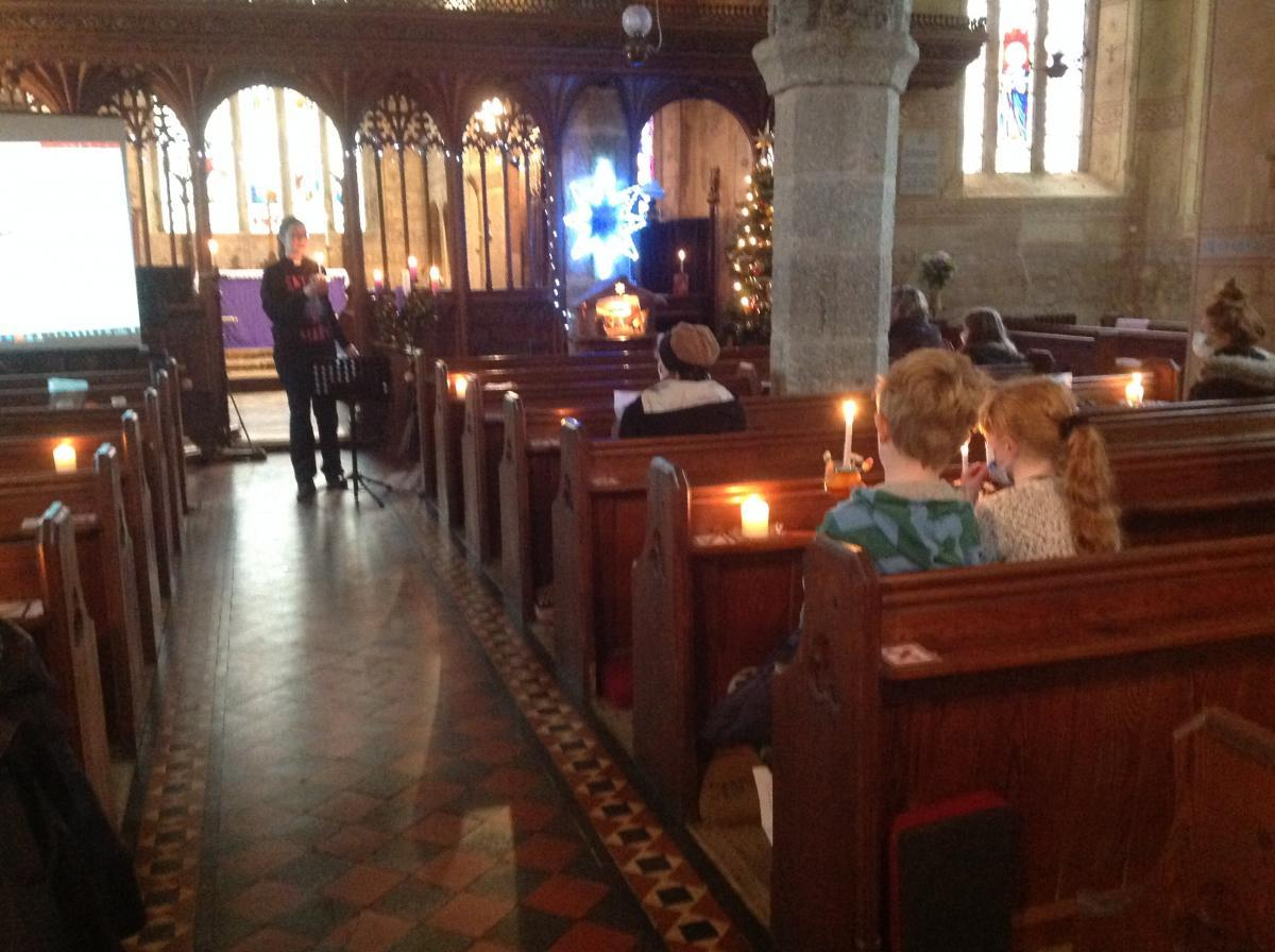 Christingle at St. Mary's Rattery 2020 (1)