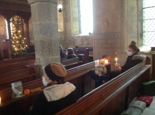 Christingle at St. Mary's Rattery 2020 (2)